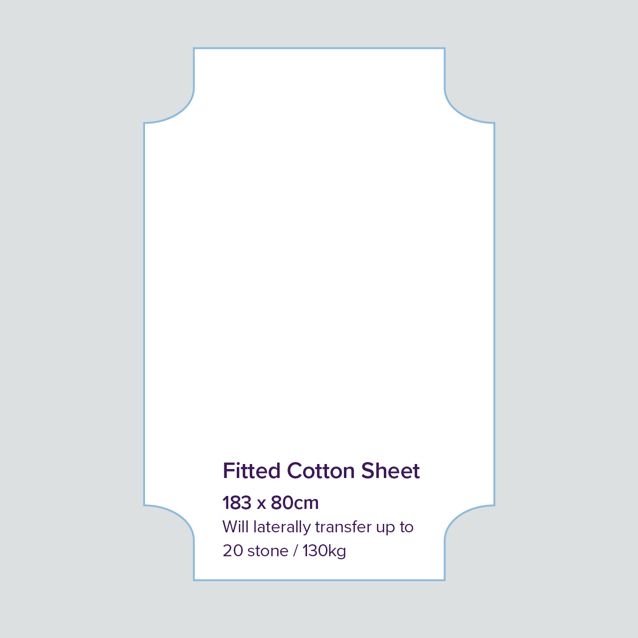 Image for Fitted Cot Sheet